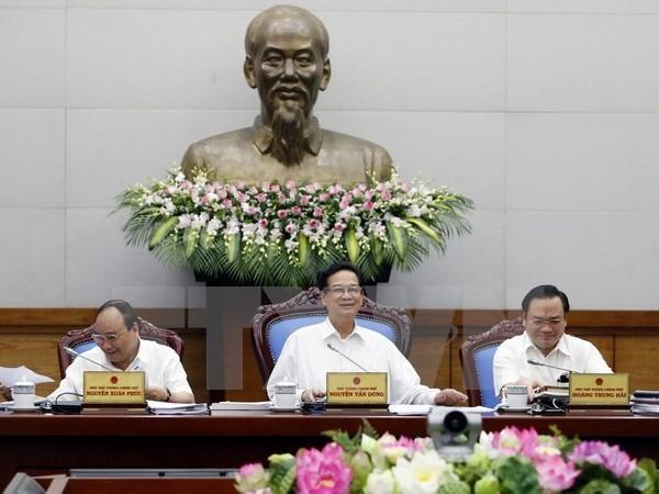 Gobierno urge a mayores esfuerzos por cumplir metas trazadas hinh anh 1