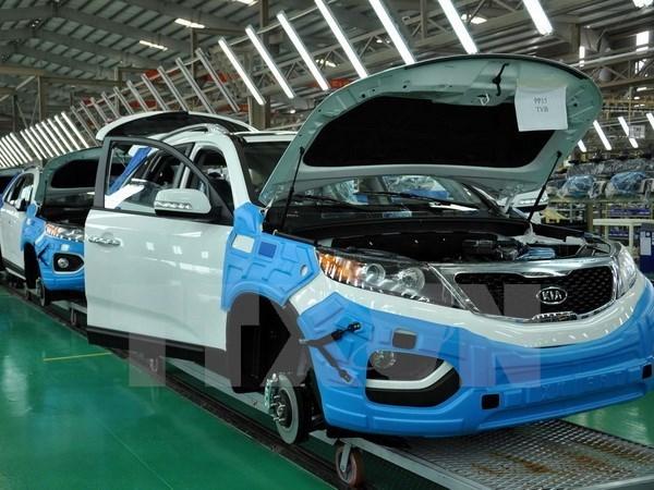 Incrementan ventas automovilisticas en Vietnam hinh anh 1