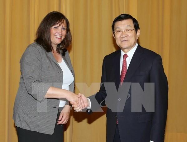 Saludan cooperacion Vietnam-Alemania en educacion hinh anh 1
