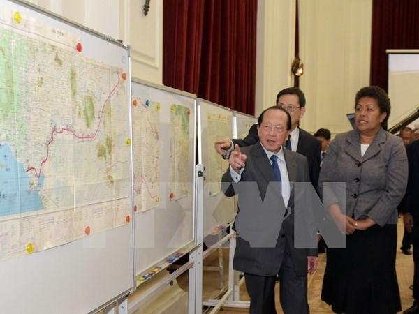 Cambodia circula publicamente mapa sobre frontera con Vietnam hinh anh 1