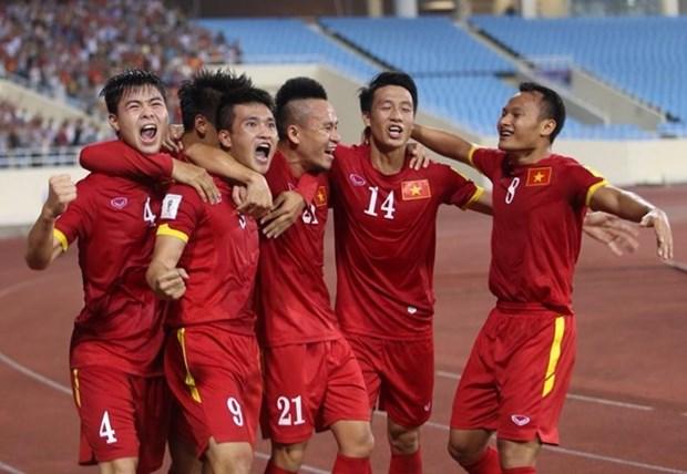 Vietnam pierde victoria en el ultimo suspiro en partido con Irak hinh anh 1