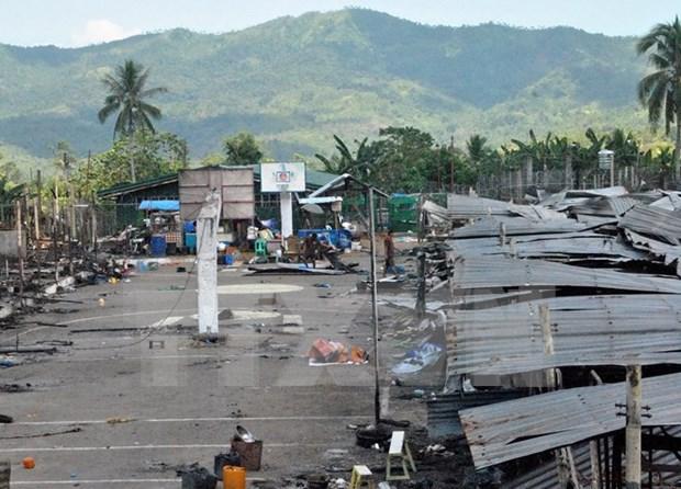 Por lo menos 10 reos mueren por incendio de carcel en Filipinas hinh anh 1