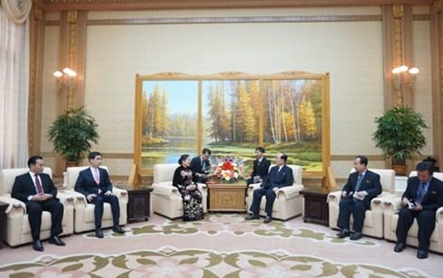 Delegacion partidista vietnamita visita Corea del Norte hinh anh 1