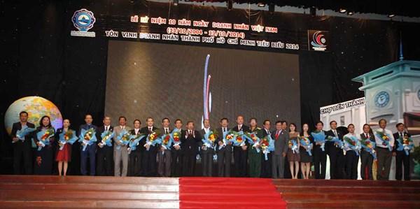 Ciudad Ho Chi Minh honra a cien empresarios destacados hinh anh 1