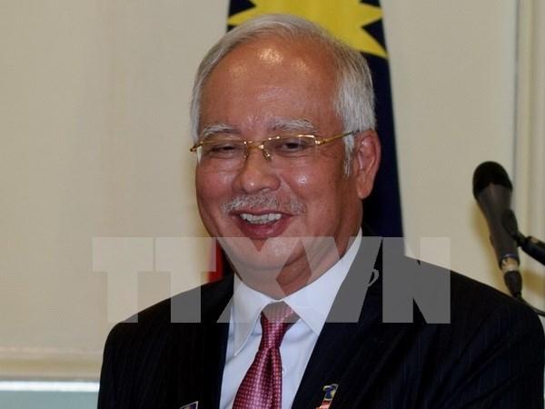Primer ministro malasio realiza visita de trabajo a Indonesia hinh anh 1