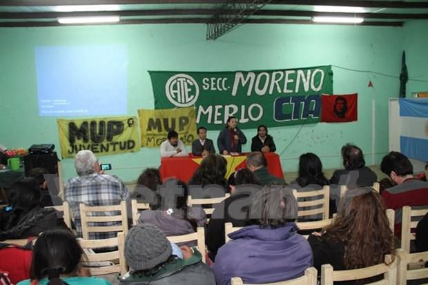 """Charla """"Vietnam, ayer y hoy"""" en Argentina hinh anh 1"""