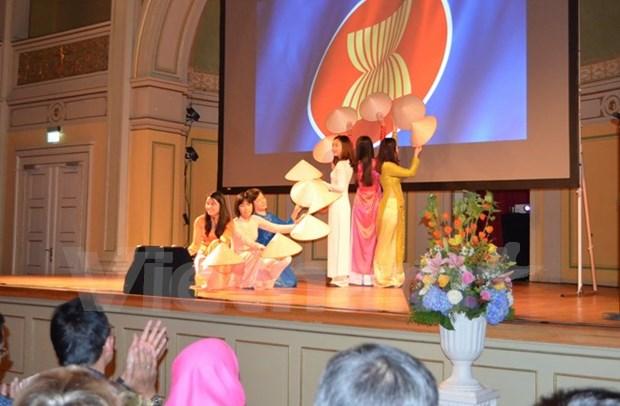 Culturas de paises de ASEAN se presentan en Noruega hinh anh 1