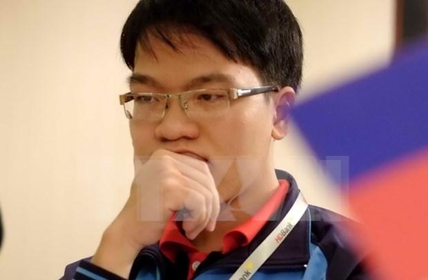 Ajedrecista vietnamita en primer lugar en Torneo Millonario en EE.UU. hinh anh 1