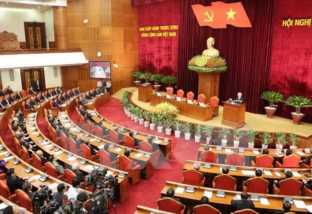 Cumple Comite Central de PCV tensa agenda en XII pleno hinh anh 1