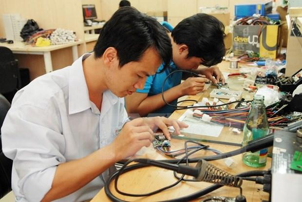 Mercado domestico: potencialidad para sector semiconductor vietnamita hinh anh 1