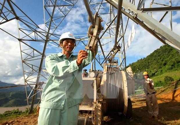 Inician proyecto electrico en comuna insular de Kien Giang hinh anh 1