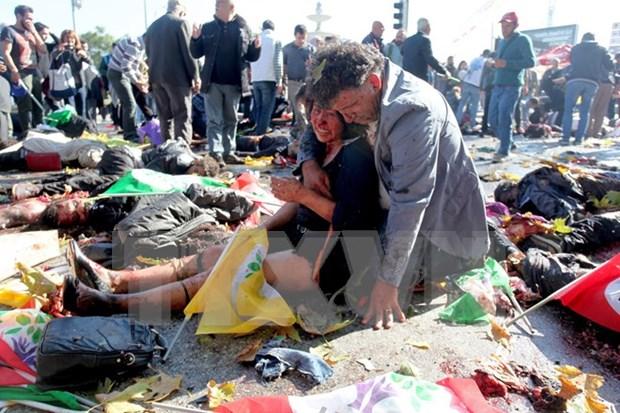 Condena fuertemente Vietnam ataque con bombas en Ankara hinh anh 1
