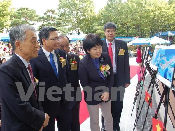 Presentan en Sudcorea evidencias de actos ilegales en Mar Oriental hinh anh 1