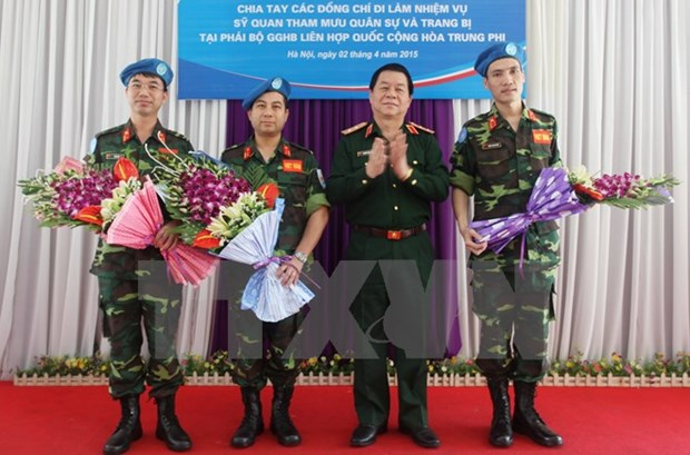 Promueve Vietnam formacion de oficiales a operaciones de paz hinh anh 1