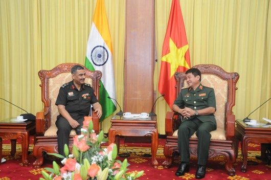 Vietnam e India fortalecen cooperacion militar hinh anh 1