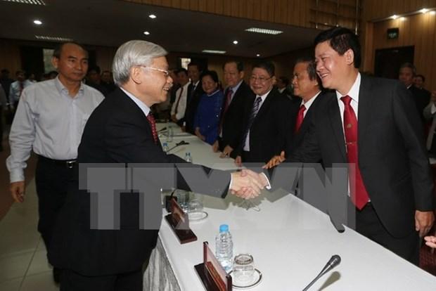 """Lider partidista: """"Comunidad empresarial mas potente que nunca"""" hinh anh 1"""