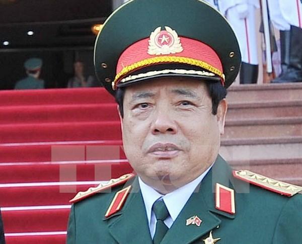 Participa ministro vietnamita en reunion de defensa ASEAN- China hinh anh 1