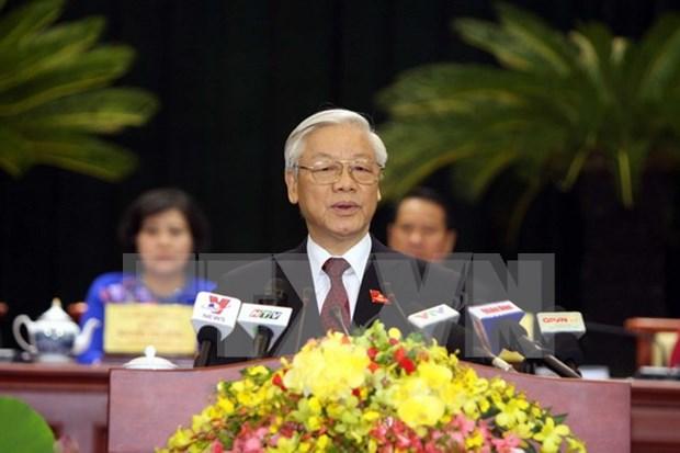 Sesiona decima Asamblea Partidista en Ciudad Ho Chi Minh hinh anh 1