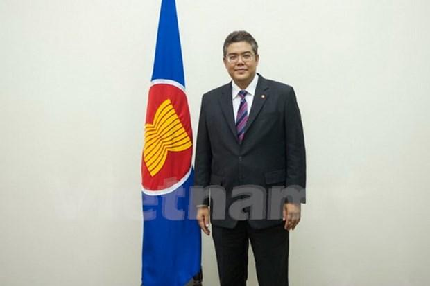 Diplomatico tailandes nombrado subsecretario general de ASEAN hinh anh 1