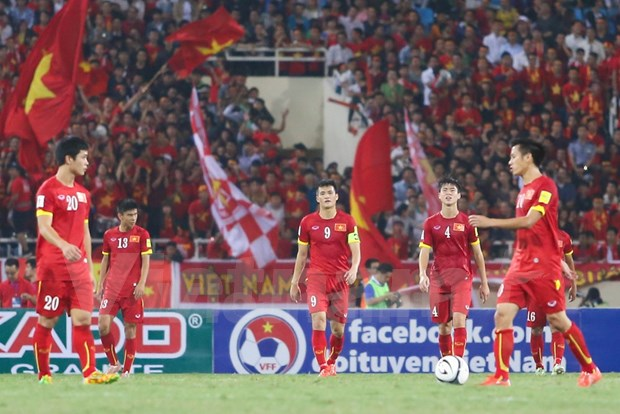 Cae otra vez seleccion vietnamita de futbol frente a Tailandia hinh anh 1