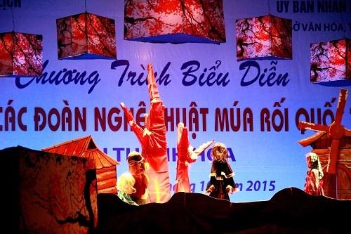 Espectaculos de marionetas, rasgo representativo de Vietnam hinh anh 1