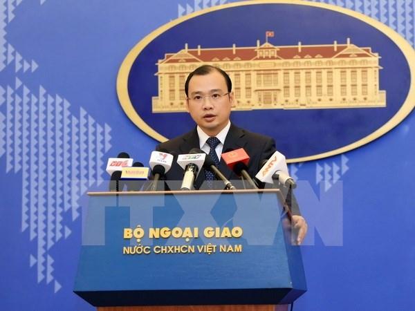Emite EE.UU. informaciones falsas sobre libertad religiosa vietnamita hinh anh 1