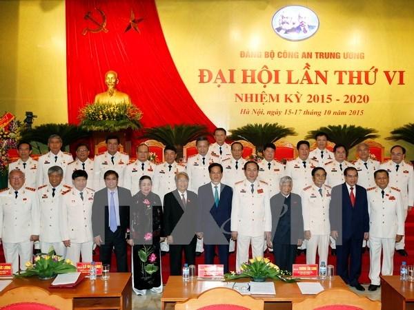 Inauguran asamblea partidista de fuerza policiaca de Vietnam hinh anh 1