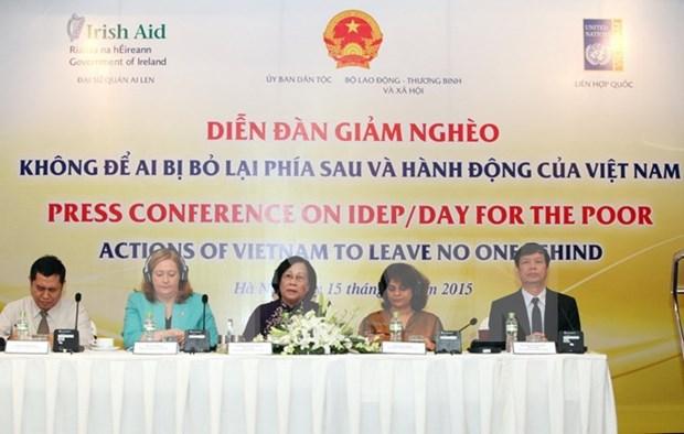 Vietnam cumple objetivo de Milenio de reduccion de pobreza hinh anh 1