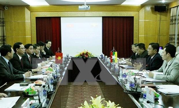 Firman Vietnam y Myanmar acuerdo de cooperacion contra corrupcion hinh anh 1