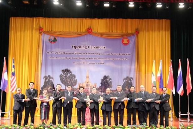 Desarrollo sostenible, prioridad en construccion de Comunidad de ASEAN hinh anh 1