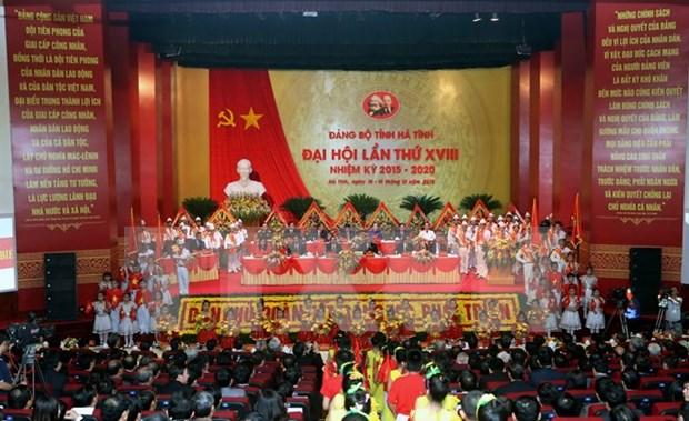 Urgen a Ha Tinh continuar acelerando desarrollo local hinh anh 1