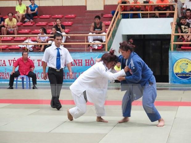 Inauguran torneo internacional de judo en Ciudad Ho Chi Minh hinh anh 1