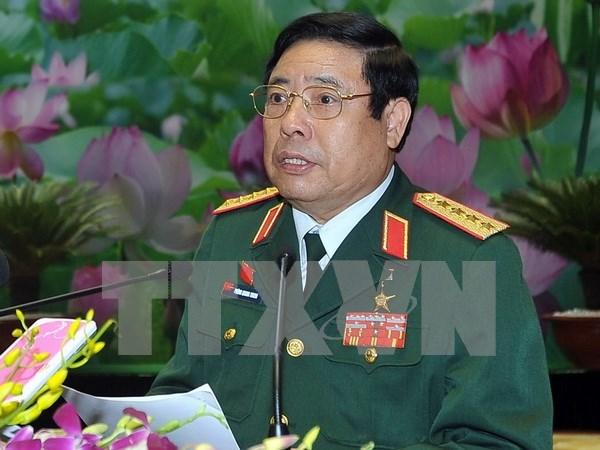 Ministro de Defensa llama a cumplir compromiso entre China y ASEAN hinh anh 1
