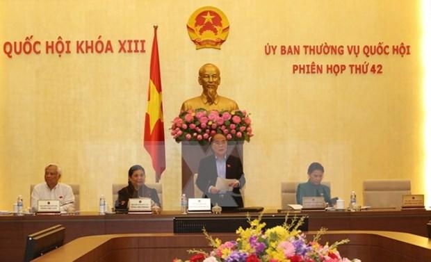 Comite Permanente del Parlamento cierra debates de 42 reunion hinh anh 1