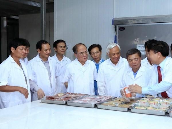 Patentizan respaldo de Parlamento a desarrollo de proyectos en Ha Tinh hinh anh 1