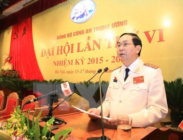 Concluye asamblea partidista de fuerza policiaca de Vietnam hinh anh 1