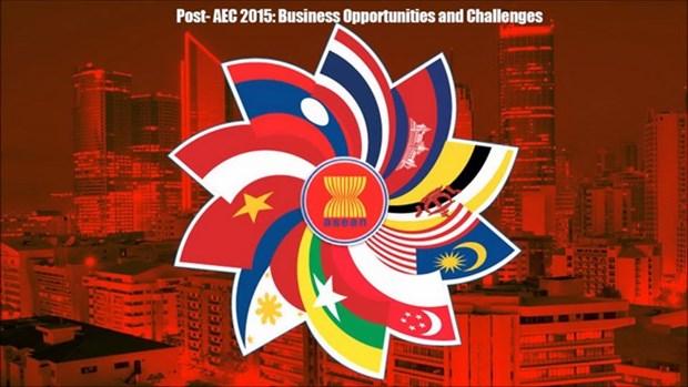 ASEAN acelera plan maestro de conectividad post 2015 hinh anh 1