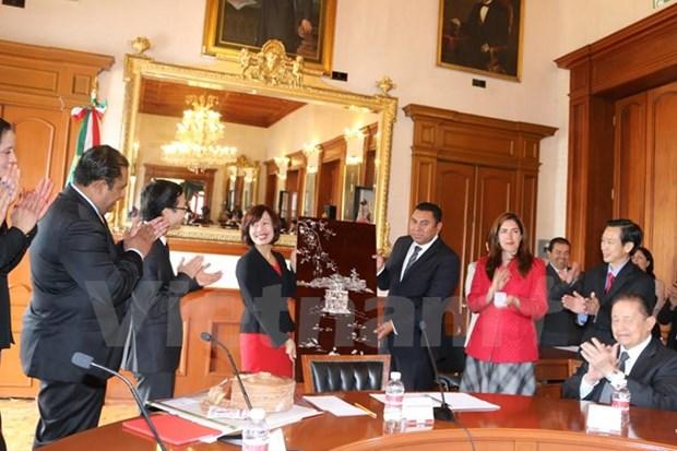 Vietnam y Mexico promueven relaciones entre localidades hinh anh 1