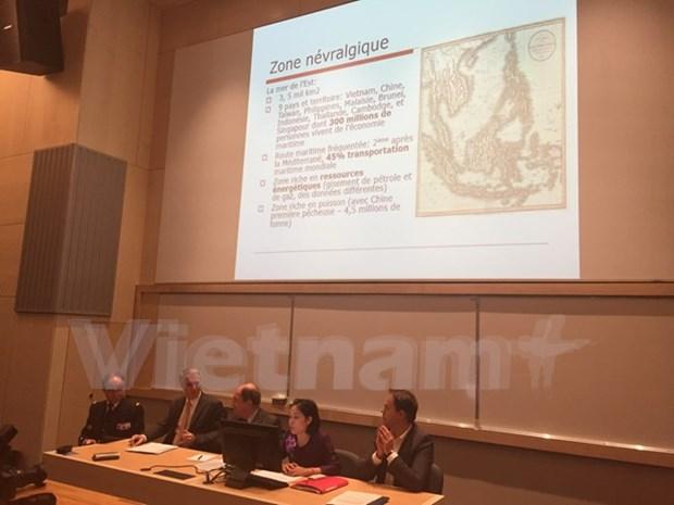 Debaten estudiosos franceses posicion geopolitica de Mar Oriental hinh anh 1