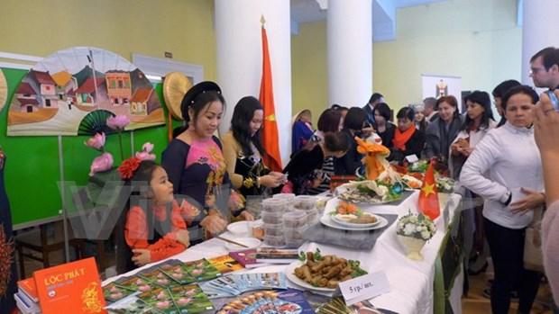 Vietnam asiste a festival asiatico cultural y gastronomico en Ucrania hinh anh 1