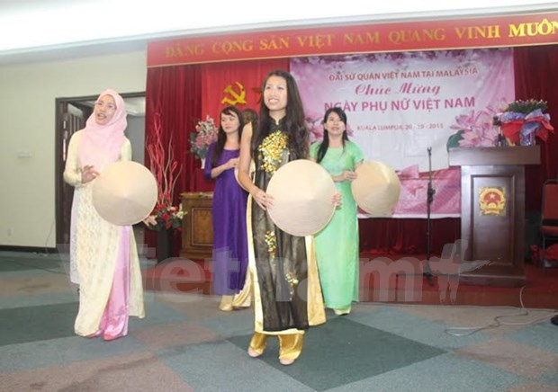 Club de Mujeres vietnamitas celebra su dia en Malasia hinh anh 1