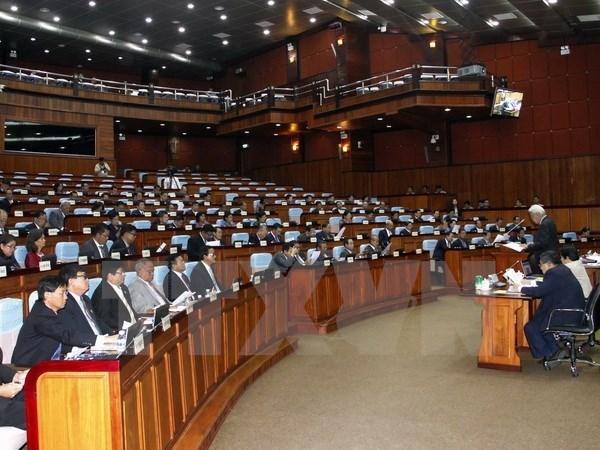 Parlamento cambodiano inicia pleno tras tres meses de descanso hinh anh 1