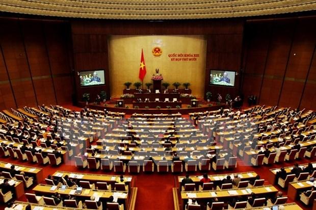 Parlamento inicia ultimo periodo de sesiones en 2015 hinh anh 1