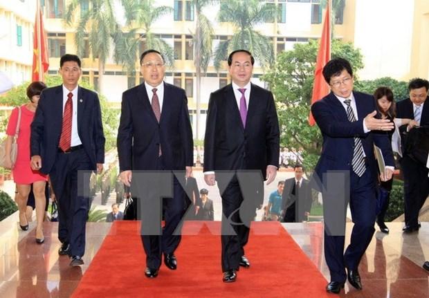 Premier vietnamita apoya impulsar relaciones con China en seguridad hinh anh 2