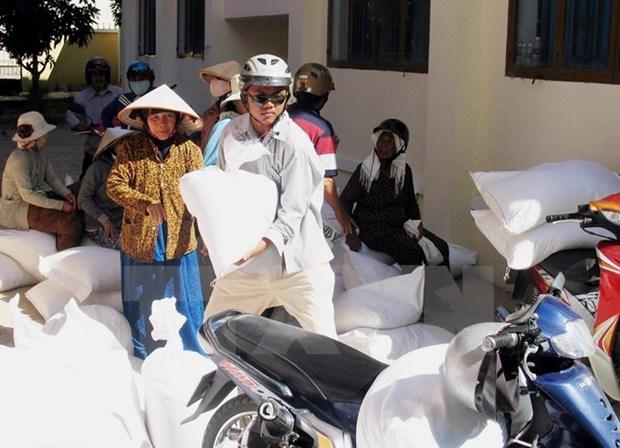 Vietnam entrega arroz a 13 mil hogares afectados por sequia hinh anh 1