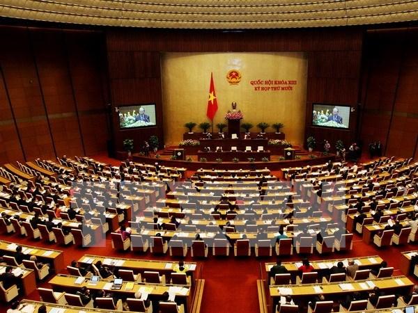 Parlamento vietnamita continua agenda del decimo periodo de sesiones hinh anh 1