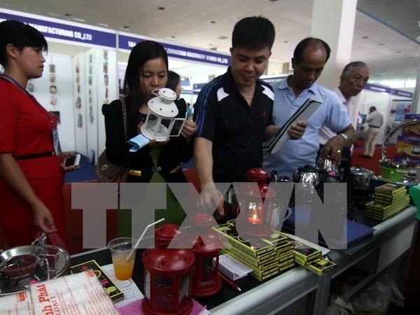 Abre sus puertas Feria Industrial internacional de Vietnam hinh anh 1