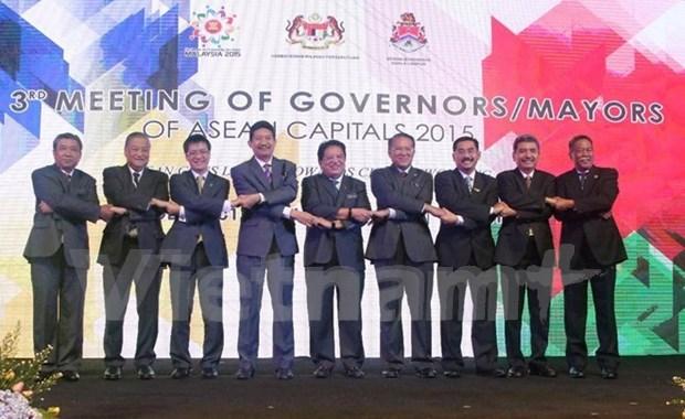 Fortalecen cooperacion y conectividad entre capitales de ASEAN hinh anh 1
