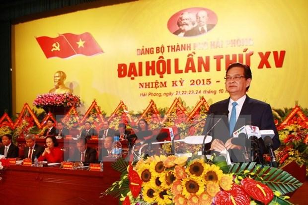 Urgen a Hai Phong convertirse en ciudad portuaria moderna hinh anh 1
