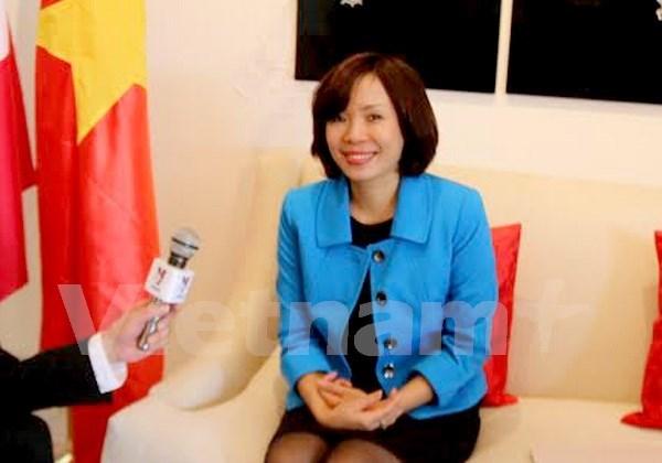 Destaca la embajadora vietnamita papel de la mujer en su pais hinh anh 1